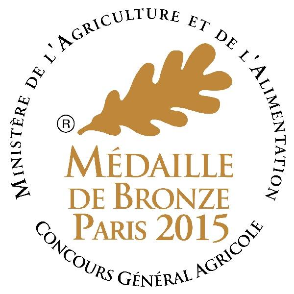 1 médaille au Concours Général Agricole de PARIS 2015