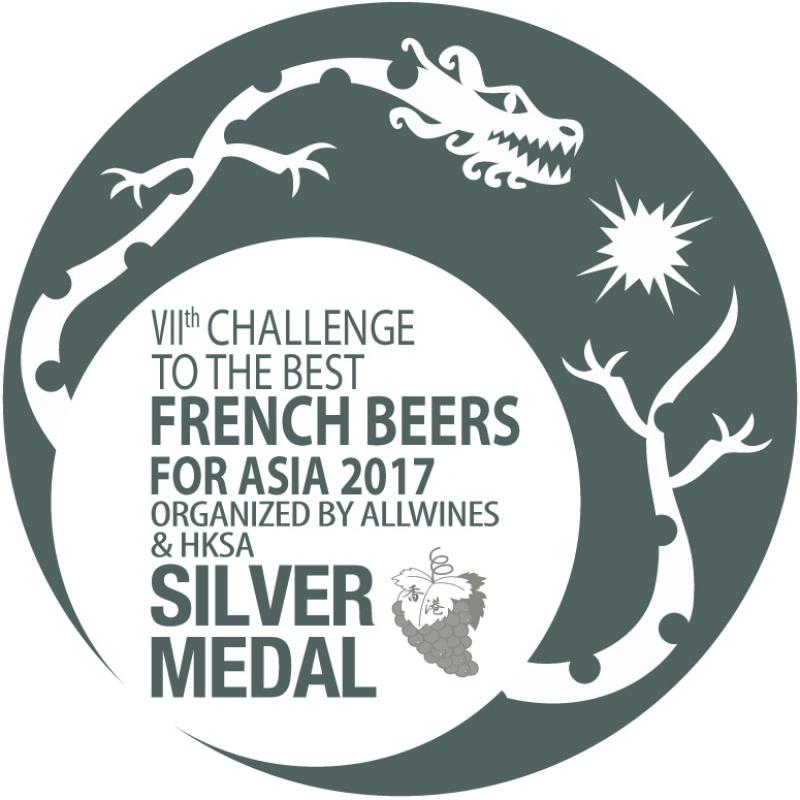 Médaille d'argent pour le concours des meilleurs vins et spiritueux Français en Asie