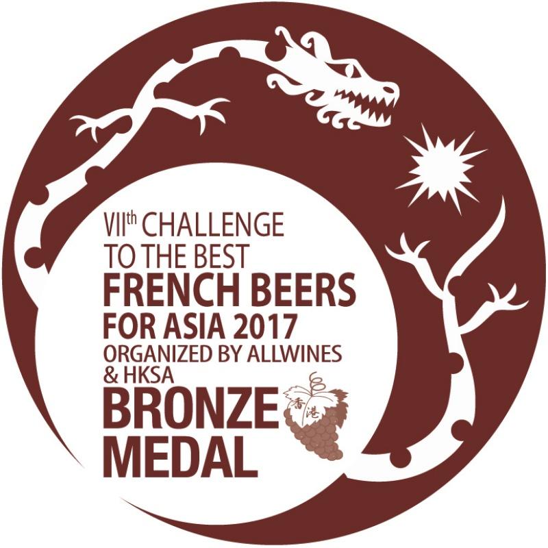 Médaille de bronze meilleurs vins et spiritueux Français en Asie