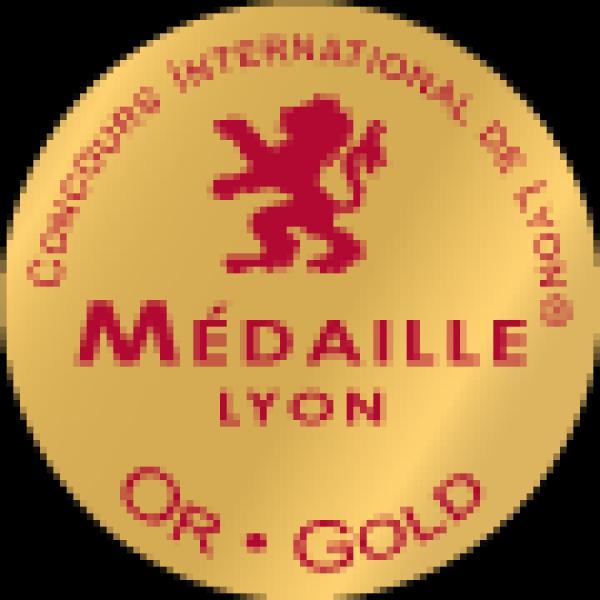 1 médaille d'or au Concours International de Lyon 2018