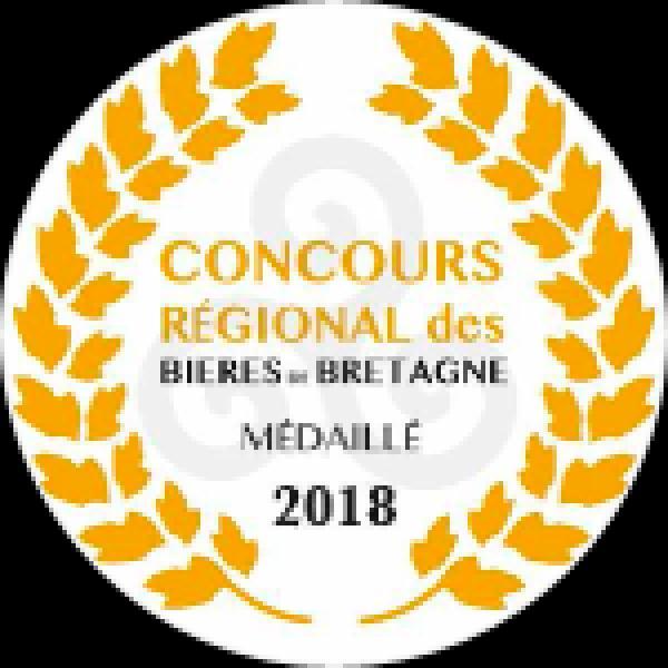 2 médailles au Concours Terralies 2018 des meilleures bières bretonnes