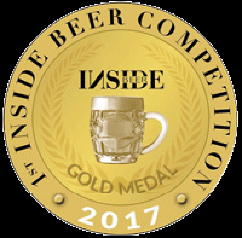 Médaille d'or de l'Inside Beer Competition