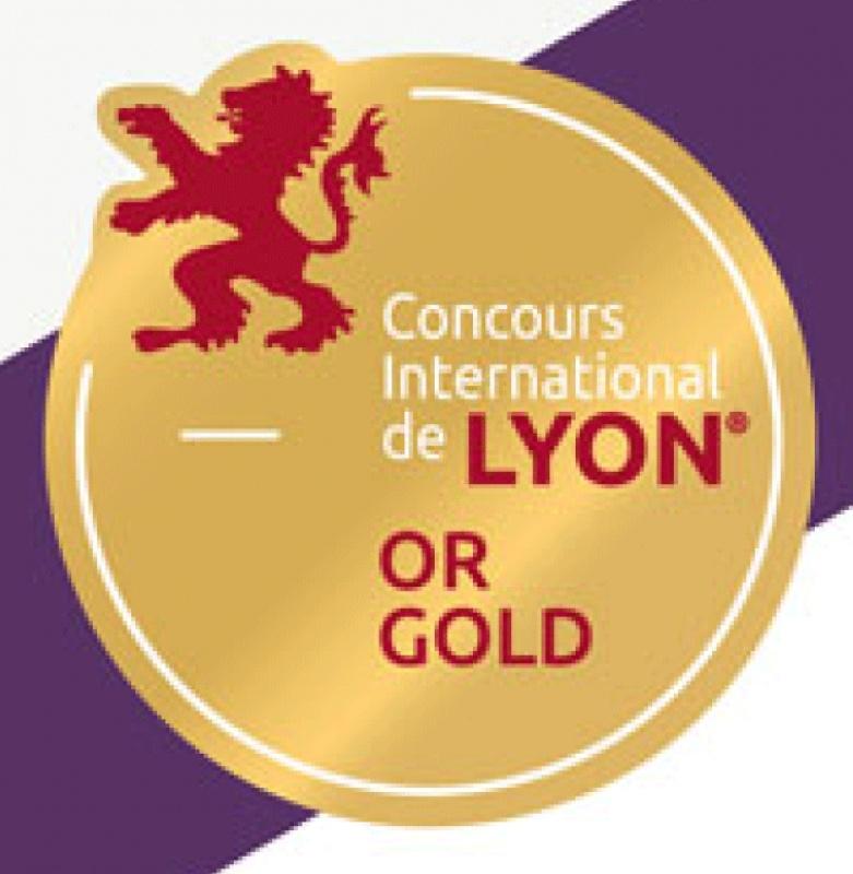1 médaille d'or au Concours International de Lyon