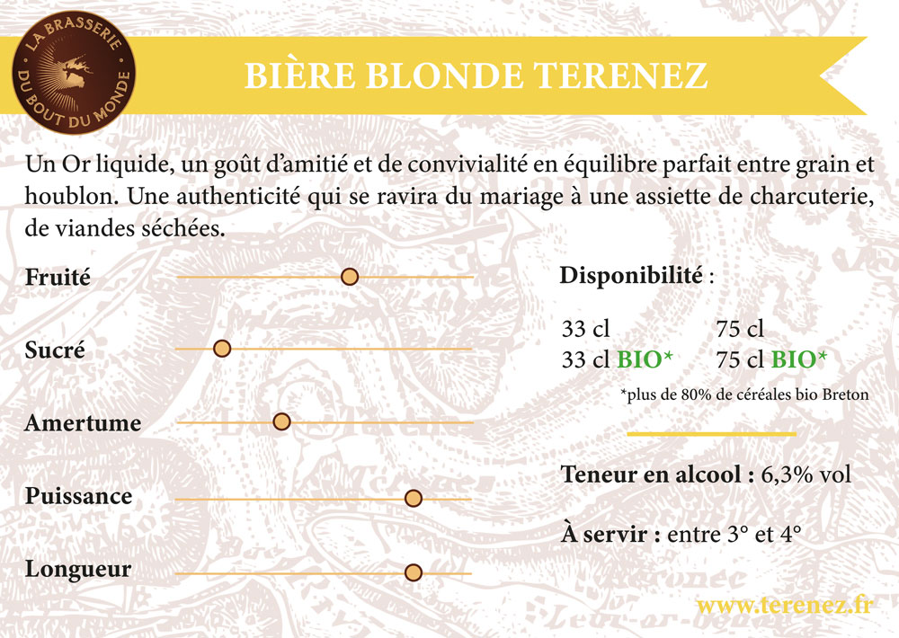 Terenez Blonde 75cl