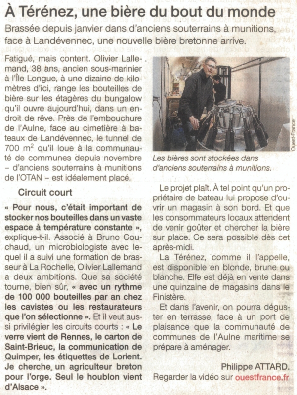 Ouest France - 13 avril 2014