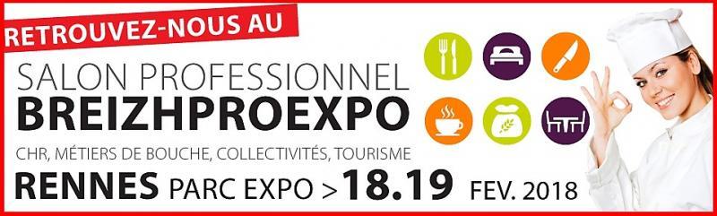 Salon BreizhProExpo 2018 à RENNES (35)