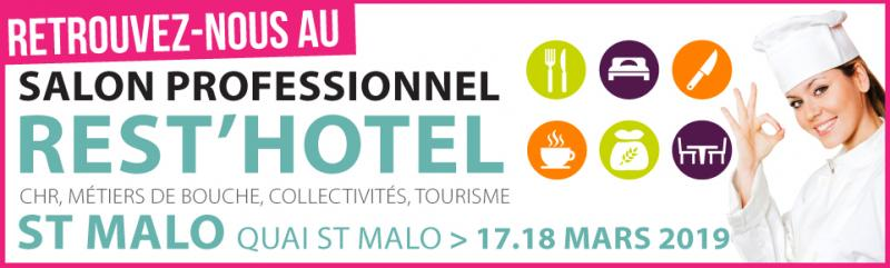Salon REST'HOTEL 2019 à SAINT-MALO